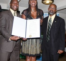 Cameron and Jackson Receive Congressional Awards in New York