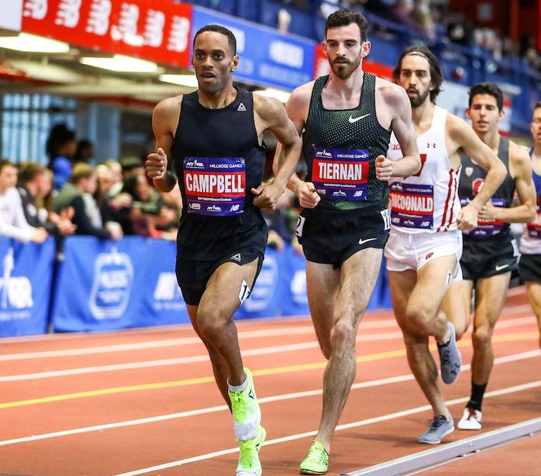 Kemoy Campbell Collapses While Pacing Men's 3K at Millrose Games