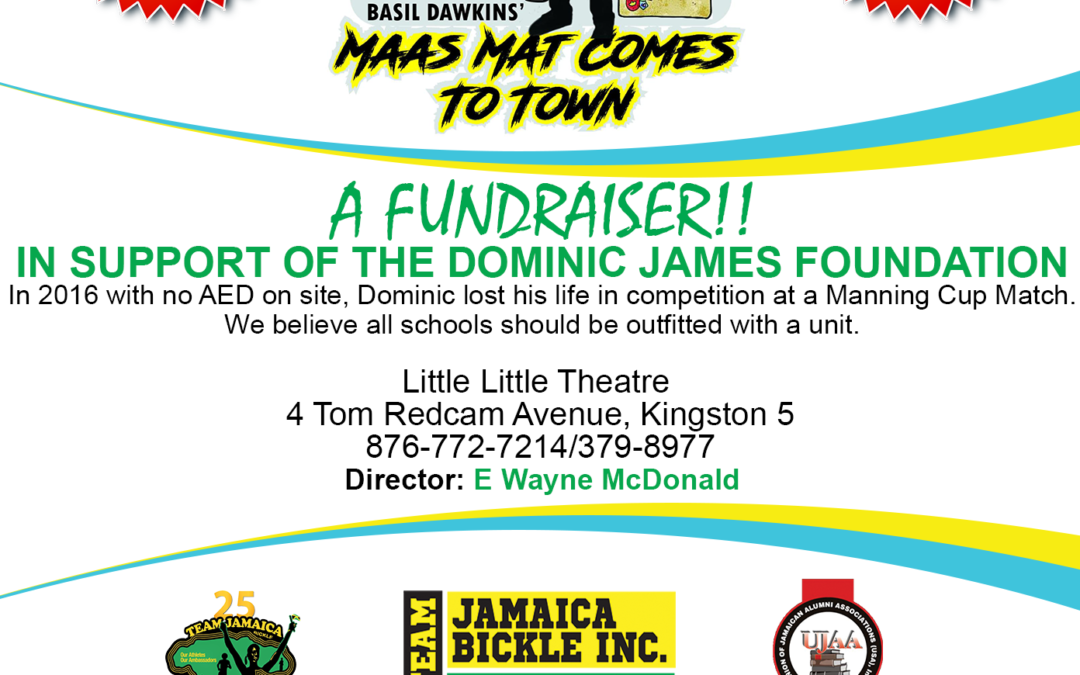 TEAM JAMAICA BICKLE & UJAA PRESENTS MAAS MAT COMES TO TOWN