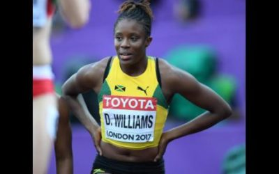 No Diamond League Guarantees For Williams – JAAA President Addresses Sprint Hurdler's World Champs Chances