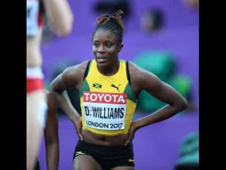 No Diamond League Guarantees For Williams – JAAA President Addresses Sprint Hurdler's World Champs Chances