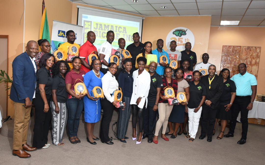 TEAM JAMAICA BICKLE EXCEEDS GOAL OF 25 AEDS FOR 2019!