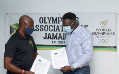 TJB Signs MOU with Olympians Association of Jamaica