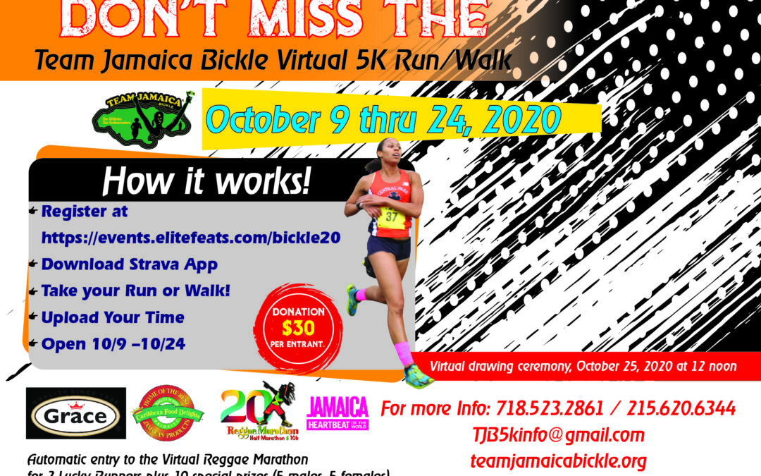 TJB VIRTUAL 5K RUN/WALK